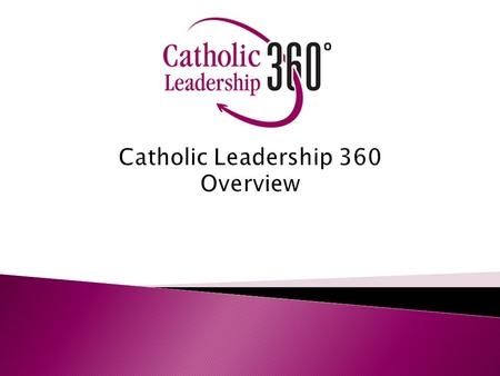 Catholic Leadership 360 Overview. Partnership Organizations National Federation of Priests Councils National Leadership Roundtable on Church Management.