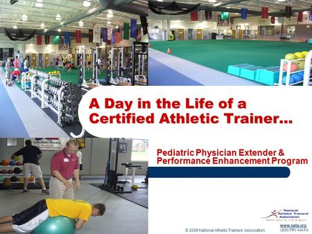 A Day in the Life of a Certified Athletic Trainer…