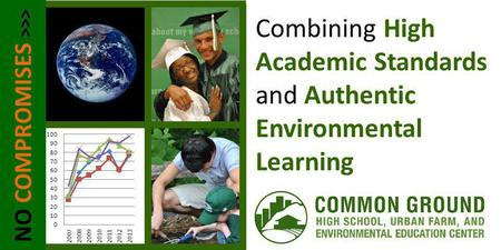 NO COMPROMISES >>> Combining High Academic Standards and Authentic Environmental Learning.