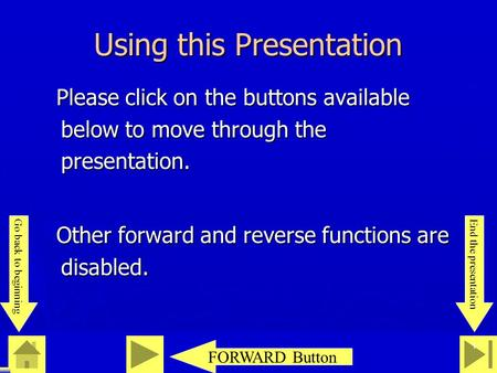 0 23 46 1 Using this Presentation Please click on the buttons available below to move through the presentation. Please click on the buttons available below.