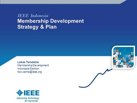 IEEE Indonesia Membership Development Strategy & Plan Lukas Tanutama Membership Development Indonesia Section photo.