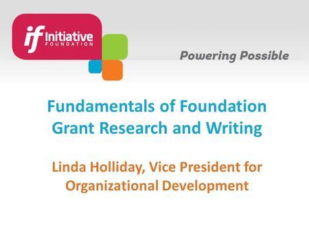 Essential Grant Skills