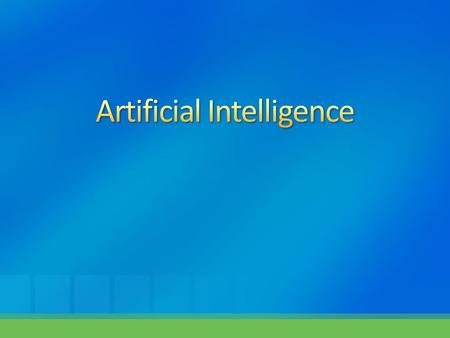  History of A.I  Knowledge Representation System.