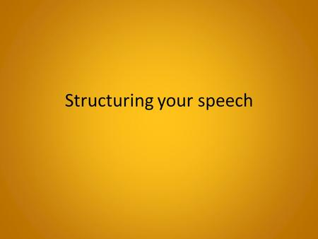 Structuring your speech. Phrases for comparing Which of these talk about pros? About cons? On the other hand.... Another drawback is that One positive.