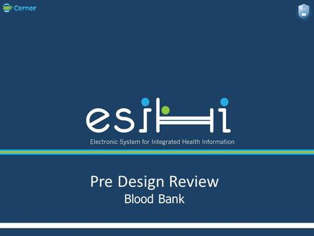 Pre Design Review Blood Bank. * Team Members..  Abdirahma Hussein  Efren Dimaandal  Bilal Hourani.