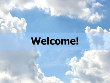 Welcome!. Can God Change Me? For the wrath of God is revealed from heaven against all ungodliness and unrighteousness of men, who by their unrighteousness.