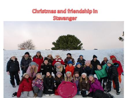 We are together, having fun in the snow This was the best lesson today.