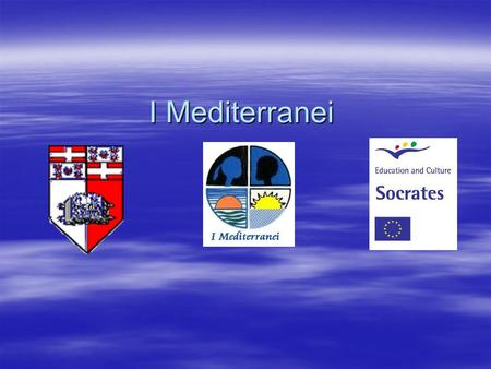 "I Mediterranei. Agenda  The story  Objectives of the ""EU Team""  The Implementation  Malta experience  The working process, challenges and fun  The."