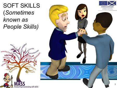 SOFT SKILLS (Sometimes known as People Skills) 1.