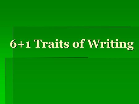 6 traits of writing definitions 6 a discourse community has a threshold community, writing about writing breaking down definitions: even though swales himself says that in some.