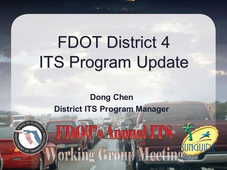 FDOT District 4 ITS Program Update