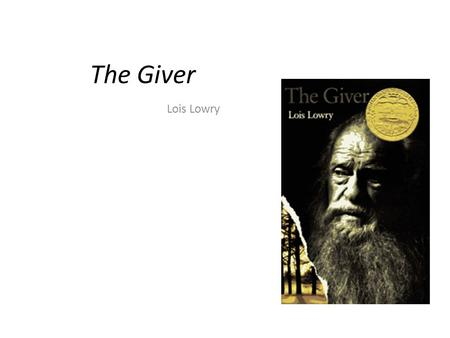 The Giver Lois Lowry. Chapters 1-5 adherence Definition: steady devotion Part of speech: Synonym: Antonym: Sentence From Book: Your Sentence: