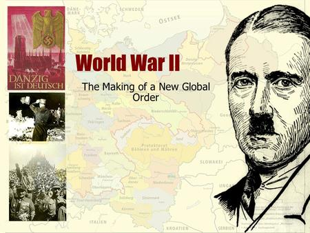 World War II The Making of a New Global Order. Japanese Expansion Before World War II Reasons for: Militarists leaders Results Earlier occupation of Manchuria.