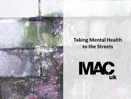 Taking Mental Health to the Streets. State of Mind.