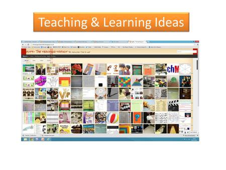 Teaching & Learning Ideas. Passing Mind maps