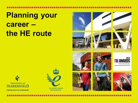 Planning your career – the HE route. What we are going to cover? Post-18 options Matching HE courses to graduate careers Graduate labour market trends.
