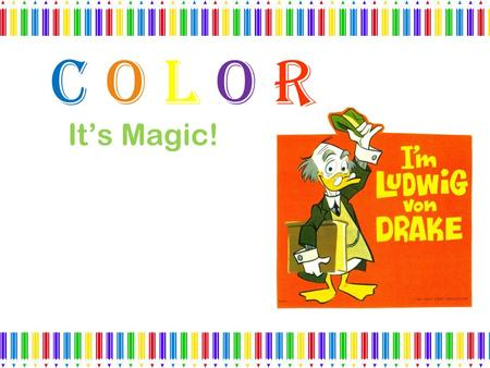 Color It's Magic!.