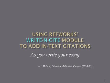 adding citations to a research paper Research and term paper citation introduction and student's guide to citation styles for research papers tweet adding citations may seem difficult at.