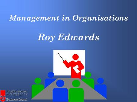 Management in Organisations Roy Edwards. The Internal Environment (micro level) Sales Administration MarketingPersonnel FinancePurchasing.