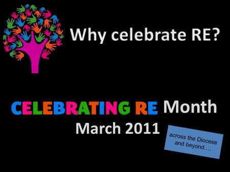 Month March 2011 across the Diocese and beyond…..