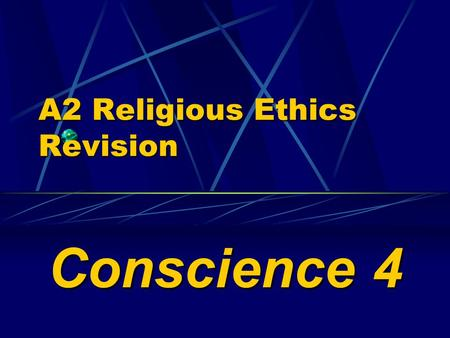 A2 Religious Ethics Revision Conscience 4. Sigmund Freud () ( 1856 - 1939 )