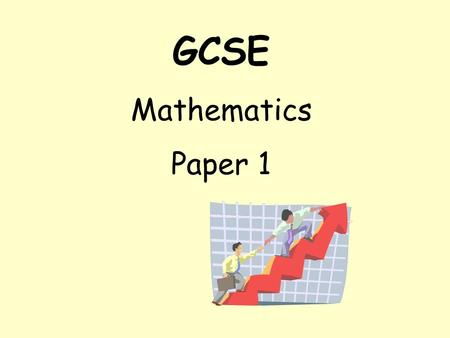 GCSE Mathematics Paper 1. Different Words ADD Plus Total More than Sum of SUBTRACT Take away Minus Difference Less than.