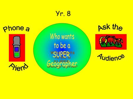 Yr. 8. Who studies weather? A. Geologist B. Meteorologist C. Biologist D. Hydrologist B. Meteorologist.