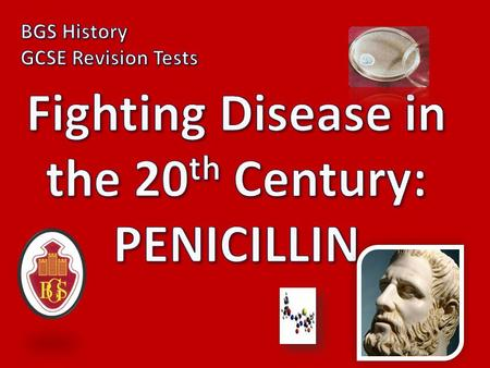 1) Who made the initial discovery of penicillin? ALEXANDER FLEMING.