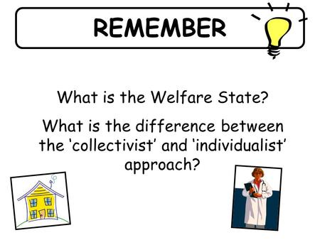 What is the Welfare State?