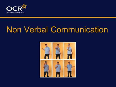 Non Verbal Communication What does the following sign mean to you?