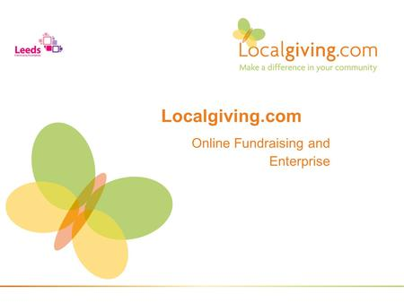 Online Fundraising and Enterprise Localgiving.com.