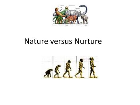 Nature versus Nurture. The Debate Ground Rules… The Debate Ground Rules Please sit with the 'Camp' that you signed up to - Nature or Nurture. I will.
