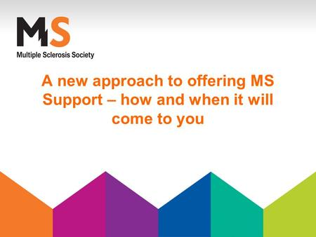 A new approach to offering MS Support – how and when it will come to you.