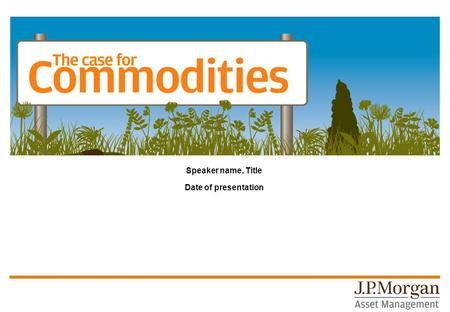 Speaker name, Title Date of presentation. Commodities are used by everyone, everyday An average 200kg of COPPER in a single-family home 1. That's equivalent.