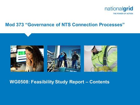 "Mod 373 ""Governance of NTS Connection Processes"""