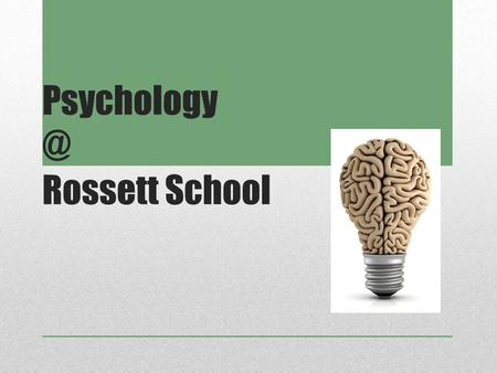 Rossett School. In today's session we will be answering the following questions: Who? What? When? Why ? Where? How?