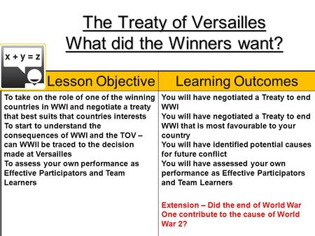 essay questions about the treaty of versailles