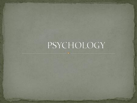Aims: Psychology is a massive area, just a taster today of: The different types of ANXIETY The different types of RELAXATION Understand what SELF TALK.