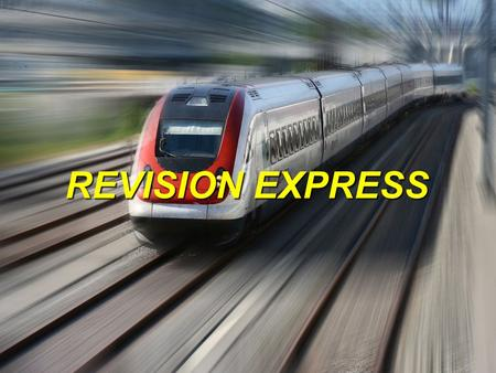 REVISION EXPRESS. SPECIFICATION AVAILABLE FREE FROM…. www.aqa.org.uk.