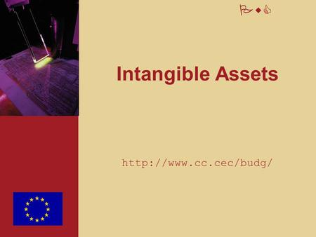 PwC Intangible Assets  2 PwC Overview of session 1. Scope and key concepts 2. Recognition 3. Measurement 4. Disclosures 5. Specific.