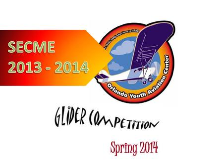 The Orlando Youth Aviation Center (OYAC) is sponsoring a glider competition amongst local students. The purpose of the competition is to give.