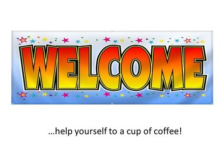 …help yourself to a cup of coffee!. EMC Technical Assistance Project Andrew Pritchard Director of Policy & Infrastructure.