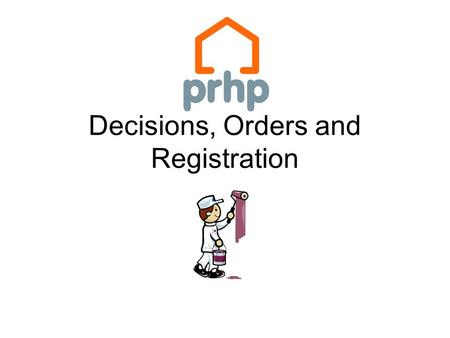 Decisions, Orders and Registration. The first decision….. Section 24(1) The prhc to which a tenant's application under section 22(1) is referred must.