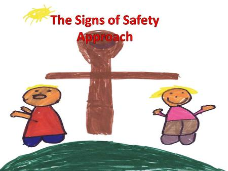 How Signs of Safety came about It is an approach to child protection casework Began around late 80's Explosion of interest in last couple of years, from.