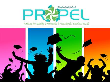 Why PROPEL? It is an economic issue in that the earning power of high school dropouts is significantly below that of those who obtain higher education.