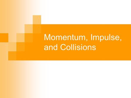 Momentum, Impulse, and Collisions. Momentum (P) A quantity that expresses the motion of a body and its resistance to slowing down. P = mv P = momentum.