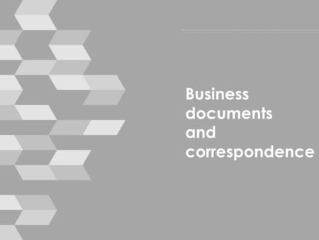 Business documents and correspondence. Housekeeping › mobile phones › break times › toilets › emergencies © smallprint 2.