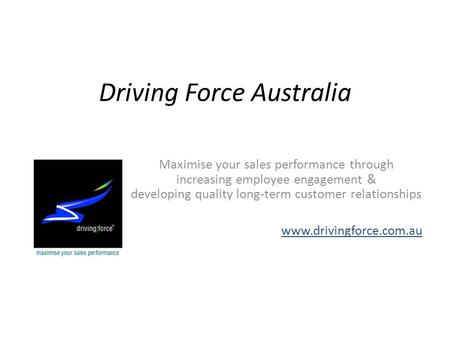 Driving Force Australia