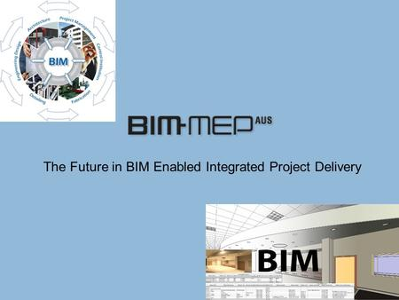 The Future in BIM Enabled Integrated Project Delivery.