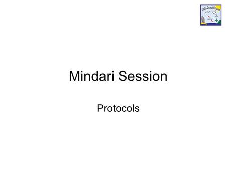 Mindari Session Protocols. General Rules and Protocols Protocols Salutes and Scout sign Motto Left hand Handshake Church Parades Travel Flags Pubic Performances.
